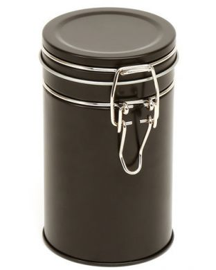 Clip-Lid Canister (850ml) - Black