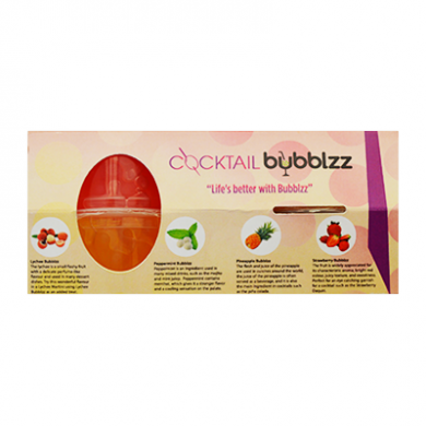 Cocktail Bubblzz - Kit of 4 Bursting Bubble Flavours (4 x 10