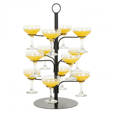 Cocktail Glass Tree (Holds 12 Glasses)