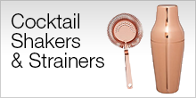 Cocktail Shakers and Strainers