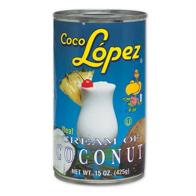 Coco Lopez - Cream of Coconut 425g (Tins Can Dent During Tra