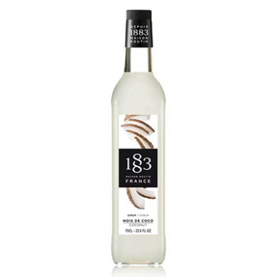 Routin 1883 Syrup - Coconut (70cl) - Glass Bottle
