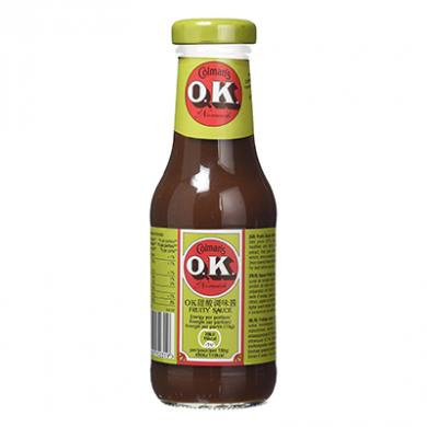 Colmans O.K. Fruity Sauce (335g)