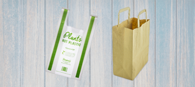 Bio Compostable Carrier Bags