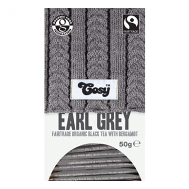 Cosy Tea - Earl Grey Tea (20 bags) Organic Fairtrade