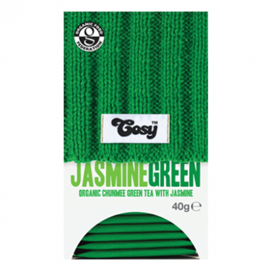 Cosy Tea - Green Tea with Jasmine (20 bags) Organic