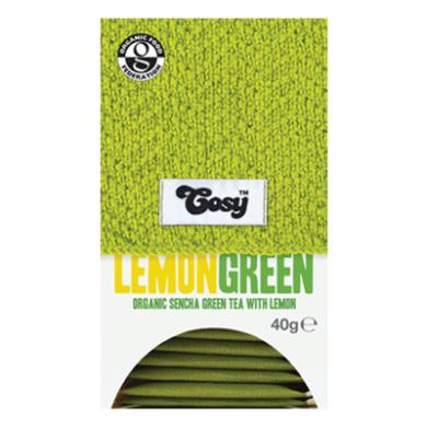 Cosy Tea - Sencha Green Tea with Lemon (20 bags) Organic