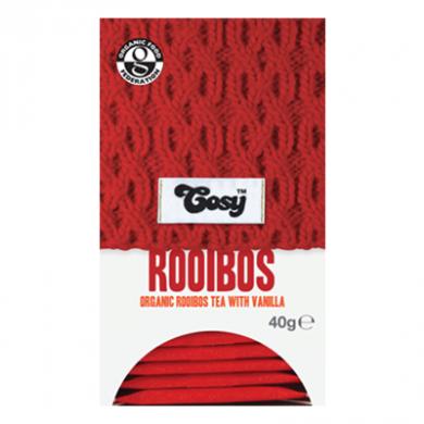 Cosy Tea - Rooibos Tea with Vanilla (20 bags) Organic