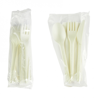 Bio Compostable Cutlery Pack (Single Pack)