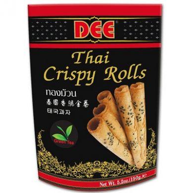 Dee Thai Crispy Rolls (150g) - Green-Tea Flavour