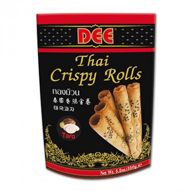 Dee Thai Crispy Rolls (150g) - Taro Flavour