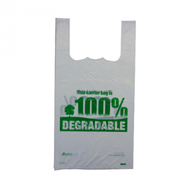 Biodegradable Plastic Carrier Bags (Extra Large) - Pack of 1