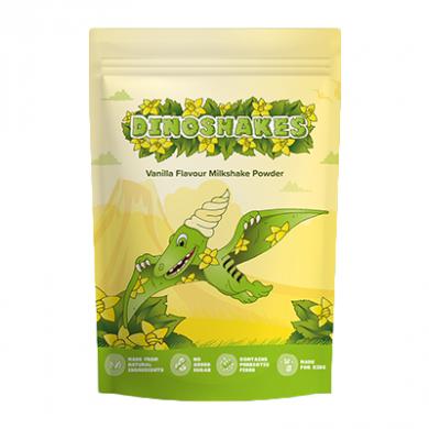 Dinoshakes Vegan Healthy Thick Milkshake (1kg) - Vanilla