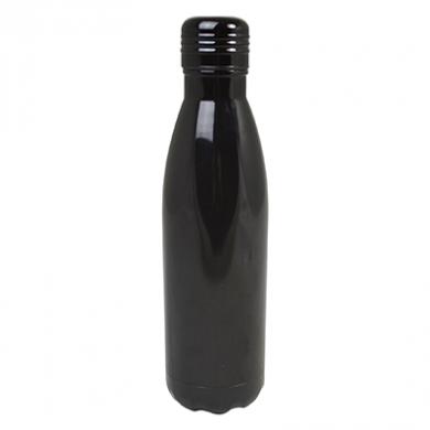 Double-Walled Water Bottle - BLACK (520ml)
