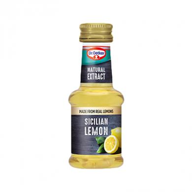 Dr. Oetker - Natural Sicilian Lemon Extract (35ml)