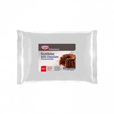 Dr. Oetker - Professional Scotbloc Milk Chocolate Bar (3kg)