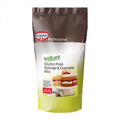 Dr. Oetker - Wellcare Gluten Free Sponge & Cupcake Mix (1kg)