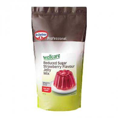 Dr.Oetker-Wellcare ReducedSugar Strawberry Jelly Mix(1kg)BBE