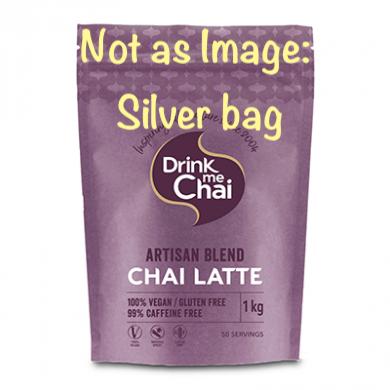 Drink Me Chai - Artisan Chai Latte (Large 1kg) Refill - Silv