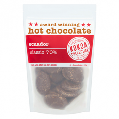 Kokoa Collection (210g) - Ecuador (70% Cocoa) Hot Chocolate