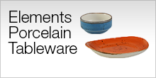 Serviceware - Elements Porcelain Tableware