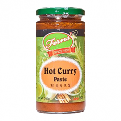 Ferns Hot Curry Paste (380g)