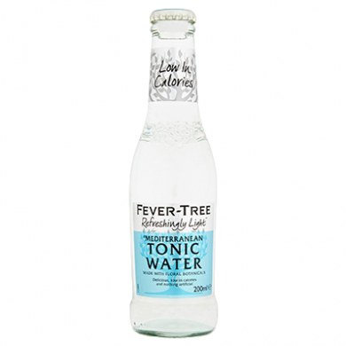 Fever Tree - Refreshingly Light Mediterranean Tonic Water (2