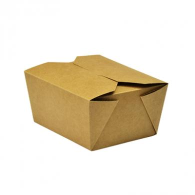 Vegware No. 1 Food Carton 700ml (Pack of 25)