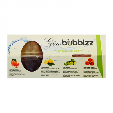 Bubblzz - GIN Kit of 4 Flavours (4 x 100g) - BBD 20/9/19