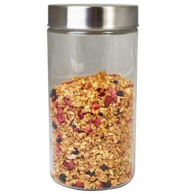 Glass Canister Storage Jar - 222mm (1700ml)