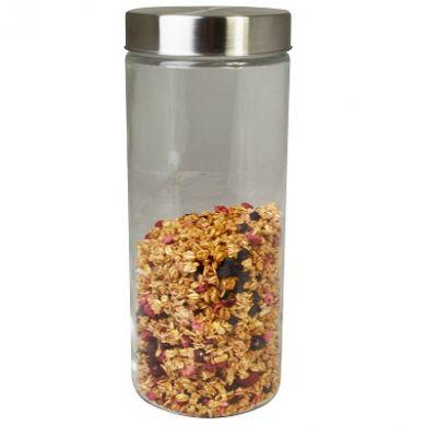 Glass Canister Storage Jar - 274mm (2200ml)