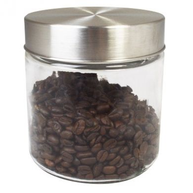 Glass Canister Storage Jar - 122mm (900ml)