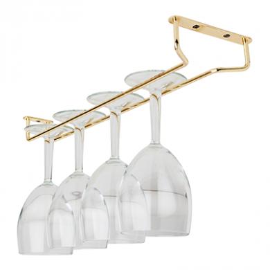 Glass Hanger - Brass (16 inch)
