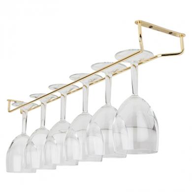 Glass Hanger - Brass (24 inch)