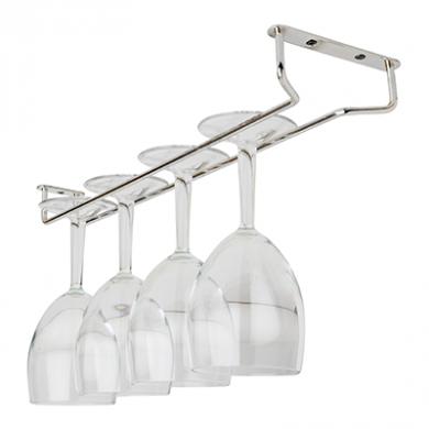 Glass Hanger - Chrome (16 inch)