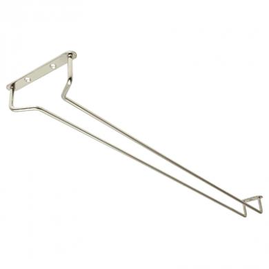 Glass Hanger - Chrome (24 Inch)
