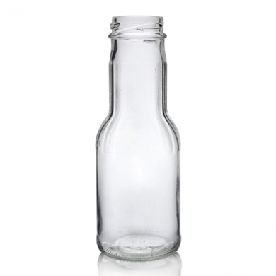 Glass Juice or Milk Bottle (250ml)