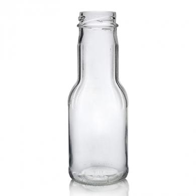 Glass Juice or Milk Bottle (250ml)
