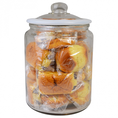 Glass Biscotti Jar (6 Litre)