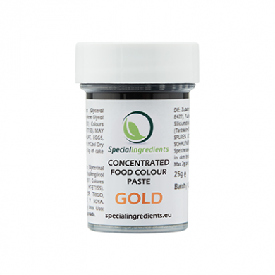 Gold Concentrated Food Colour Paste (25g)