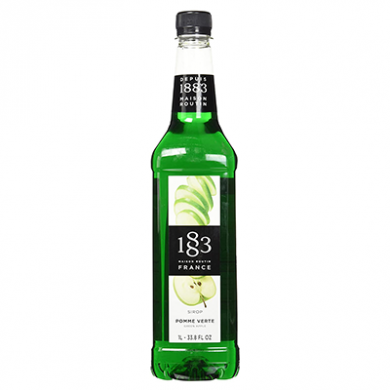 Routin 1883 Syrup - Green Apple (1 Litre) - Plastic Bottle