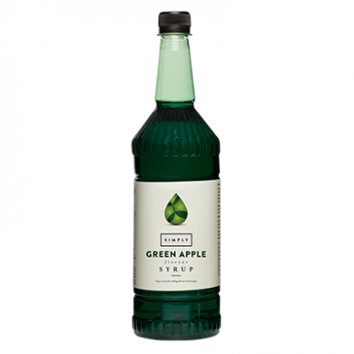 Syrup - Simply Green Apple (1L)