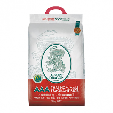 Green Dragon - Thai Hom Mali Fragrant Rice (10kg)