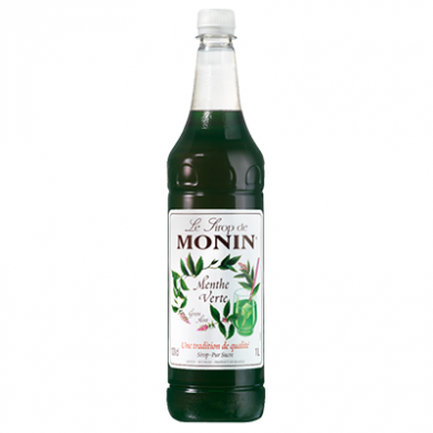 Monin Syrup - Green Mint (1 Litre)