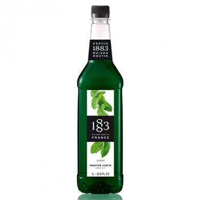 Routin 1883 Syrup - Green Mint (1 Litre) - Plastic Bottle