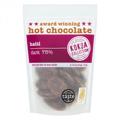 Kokoa Collection (210g) - Haiti (75% Cocoa) Hot Chocolate Ta