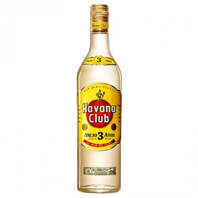 Havana Club - 3 Year Old Rum (700ml) - 40% ABV