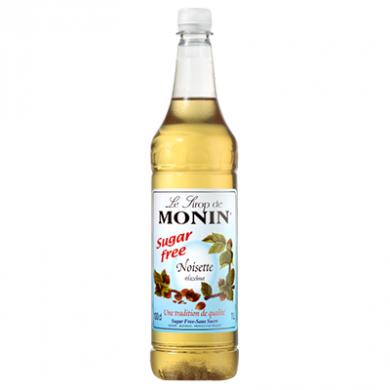 Monin Syrup - Hazelnut (Sugar Free) 1 Litre