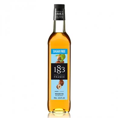 Routin 1883 Syrup - Hazelnut - Sugar Free (70cl) - Glass Bot
