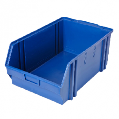 Heavy Duty Parts Bin (Large) Dark BLUE - Used Very Good Cond